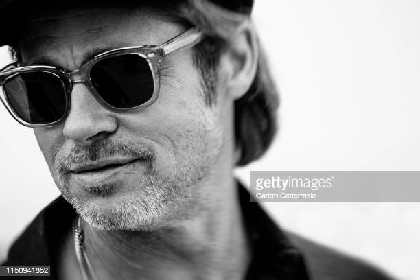 "Brad Pitt attends the photocall for ""Once Upon A Time In Hollywood"" during the 72nd annual Cannes Film Festival on May 22, 2019 in Cannes, France."