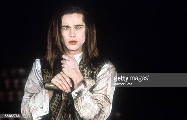 Brad Pitt in a scene from the film 'Interview With The Vampire The Vampire Chronicles' 1994