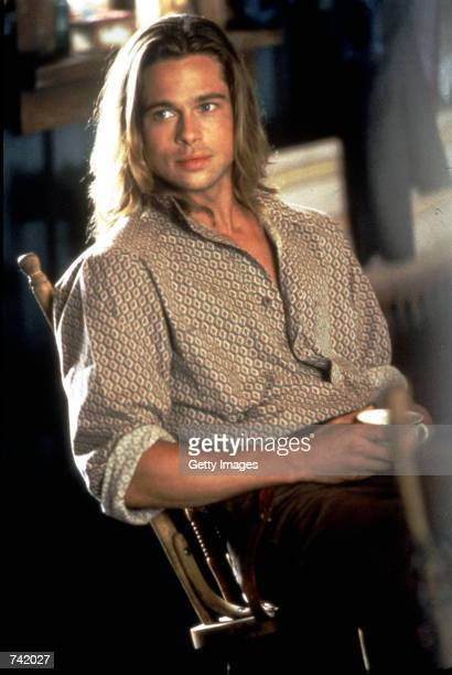 "Brad Pitt in the film ""Legends of the Fall."""