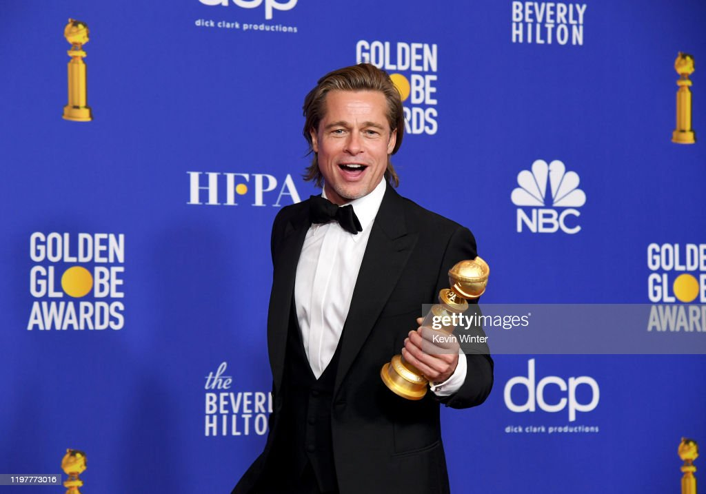 77th Annual Golden Globe Awards - Press Room : News Photo