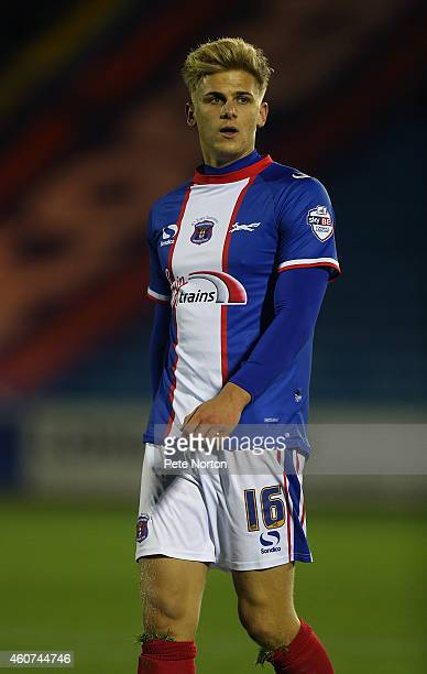 Brad Potts of Carlisle United in action during the Sky Bet League Two match between Carlisle United and Northampton Town at Brunton Park on December...