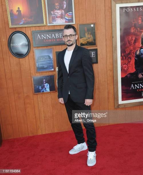 "Brad R Lambert arrives for the Premiere Of Warner Bros' ""Annabelle Comes Home"" held at Regency Village Theatre on June 20, 2019 in Westwood,..."