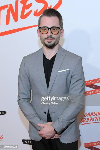 Brad R Lambert attends Lewis Howes Documentary Live Premiere: Chasing Greatness at Pacific Theatres at The Grove on February 12, 2020 in Los Angeles,...