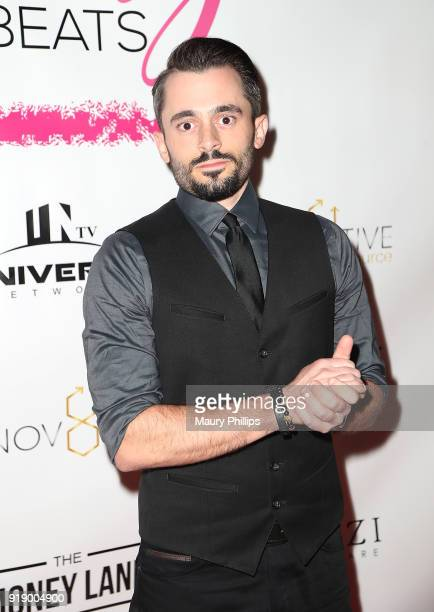 Brad Lambert attends the 2018 Beauty The Beats Celebrity Party and Panel Discussion at Dream Magic Studios on February 15 2018 in Canoga Park...