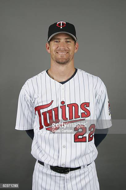 Brad Radke of the Minnesota Twins poses for a portrait during photo day at Hammond Stadium on February 28 2005 in Ft Myers Florida