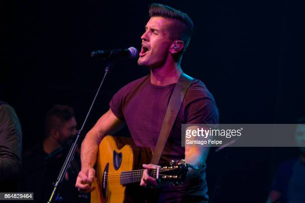 Brad Rempel of 'High Valley' performs onstage during The Highway Finds Tour at the Gramercy Theatre on October 21 2017 in New York City