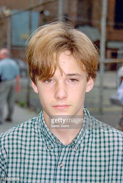 Brad Renfro during Brad Renfro on the Set of Sleepers April 11 1995 at Brad Renfro on the set of Sleepers in Brooklyn New York United States
