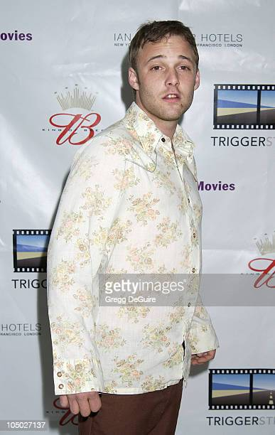 Brad Renfro during Kevin Spacey's TriggerStreetcom Launches New Content Showcase at Las Vegas Convention Center in Las Vegas Nevada United States