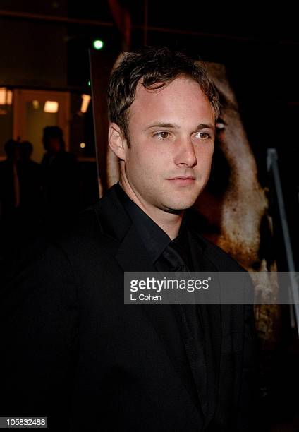 Brad Renfro during The Jacket Los Angeles Premiere Red Carpet at Pacific ArcLight Theater in Los Angeles California United States
