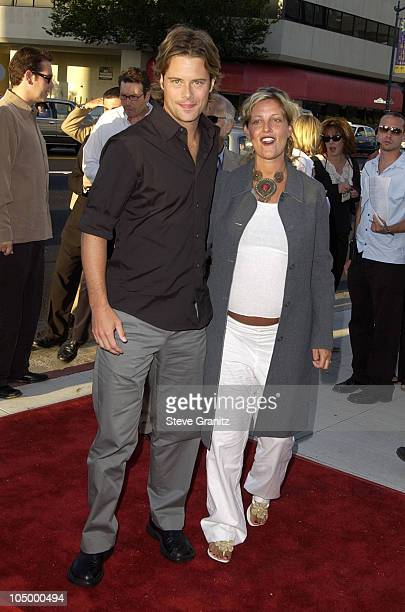 Brad Rowe wife during Full Frontal Premiere at Landmark Cecchi Gori Fine Arts Theatre in Beverly Hills California United States