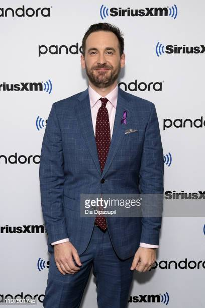 Brad Rutter visits SiriusXM Studios on January 06 2020 in New York City