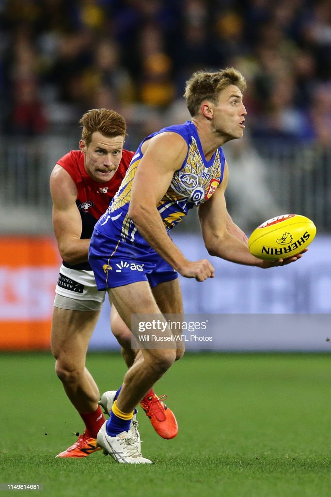 AFL Rd 9 - West Coast v Melbourne : News Photo