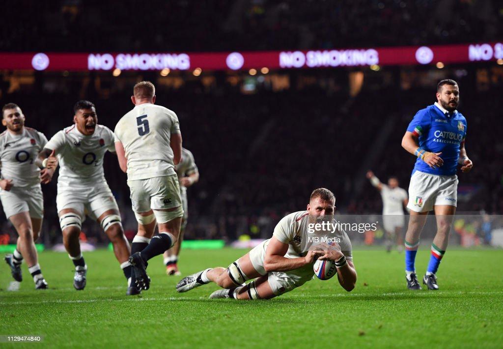 England v Italy - Guinness Six Nations : News Photo