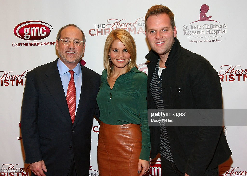 Matthew West The Heart Of Christmas.Brad Siegul Actress Candance Cameron And Actor Matthew West