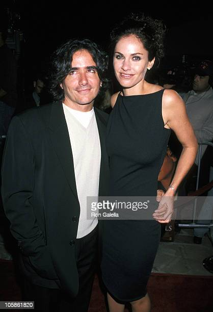 Brad Silberling and Amy Brenneman during 'City of Angels' Los Angeles Premiere at Mann Village Theatre in Westwood California United States