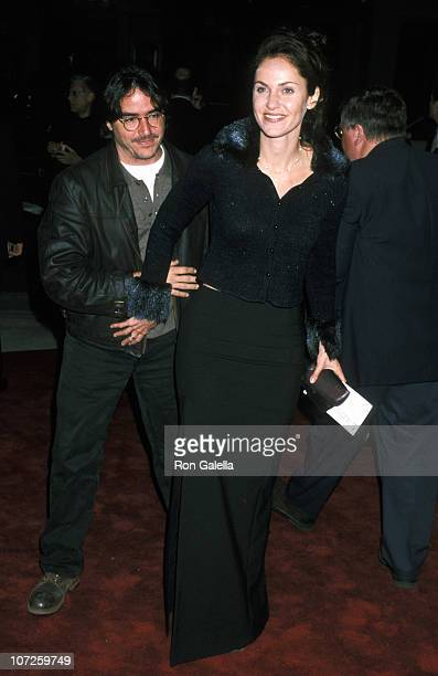 Brad Silberling and Amy Brenneman during Home Fries Premiere at Mann Bruin Theatre in Westwood California United States