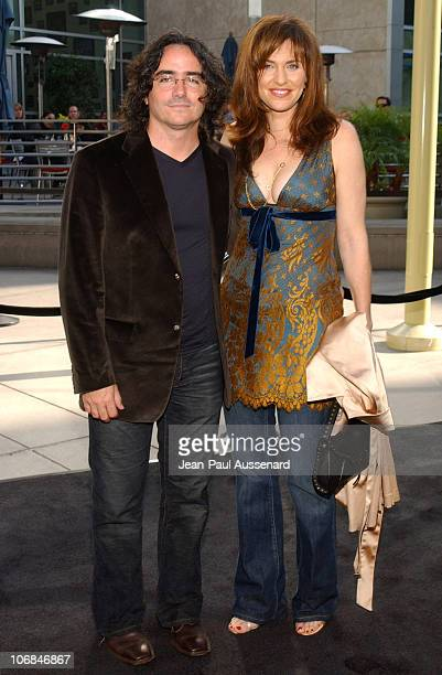 Brad Silberling and Amy Brenneman during Lemony Snicket's A Series of Unfortunate Events Los Angeles Premiere Arrivals at Cinerama Dome in Hollywood...