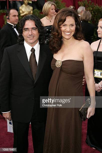 Brad Silberling and Amy Brenneman during The 77th Annual Academy Awards Arrivals at Kodak Theatre in Los Angeles California United States