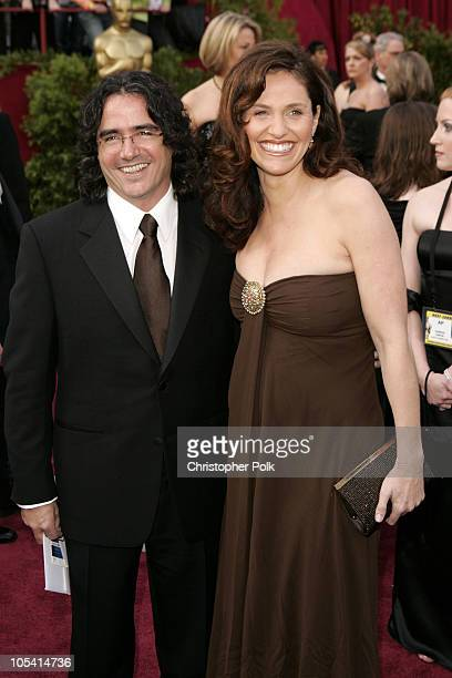 Brad Silberling and wife Amy Brenneman during The 77th Annual Academy Awards Arrivals at Kodak Theatre in Los Angeles California United States
