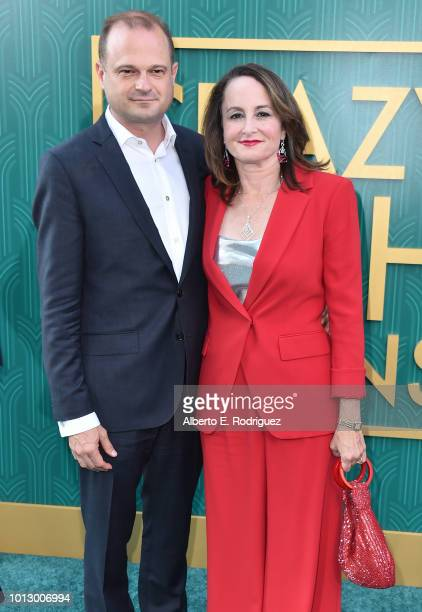 """Brad Simpson and Nina Jacobson attend the premiere of Warner Bros. Pictures' """"Crazy Rich Asiaans"""" at TCL Chinese Theatre IMAX on August 7, 2018 in..."""
