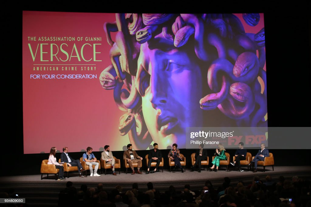 "For Your Consideration Event For FX's ""The Assassination Of Gianni Versace: American Crime Story"" - Panel"