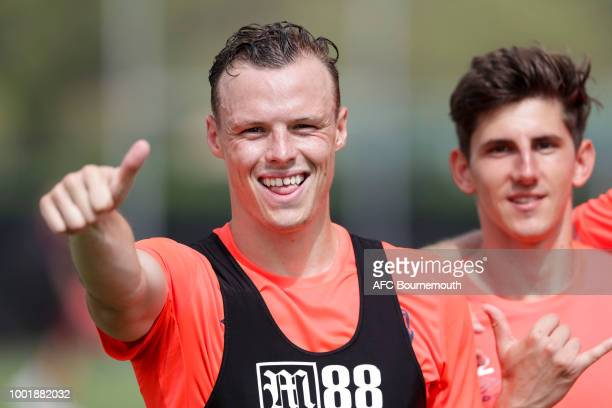 Brad Smith of Bournemouth during preseason training on July 19 2018 in La Manga Spain