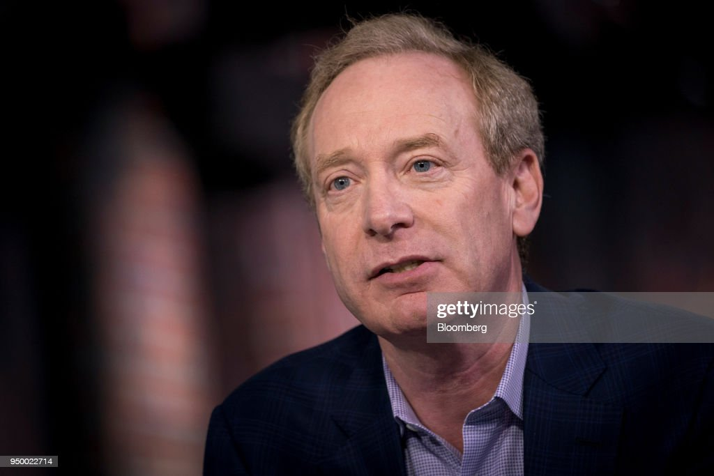 Microsoft Corp. President Brad Smith Interview