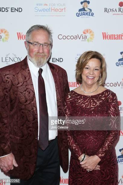 Brad Springer adn Karen Springer attend Woman's Day Celebrates 15th Annual Red Dress Awards at Appel Room at Jazz at Lincoln Centerâ Frederick P Rose...
