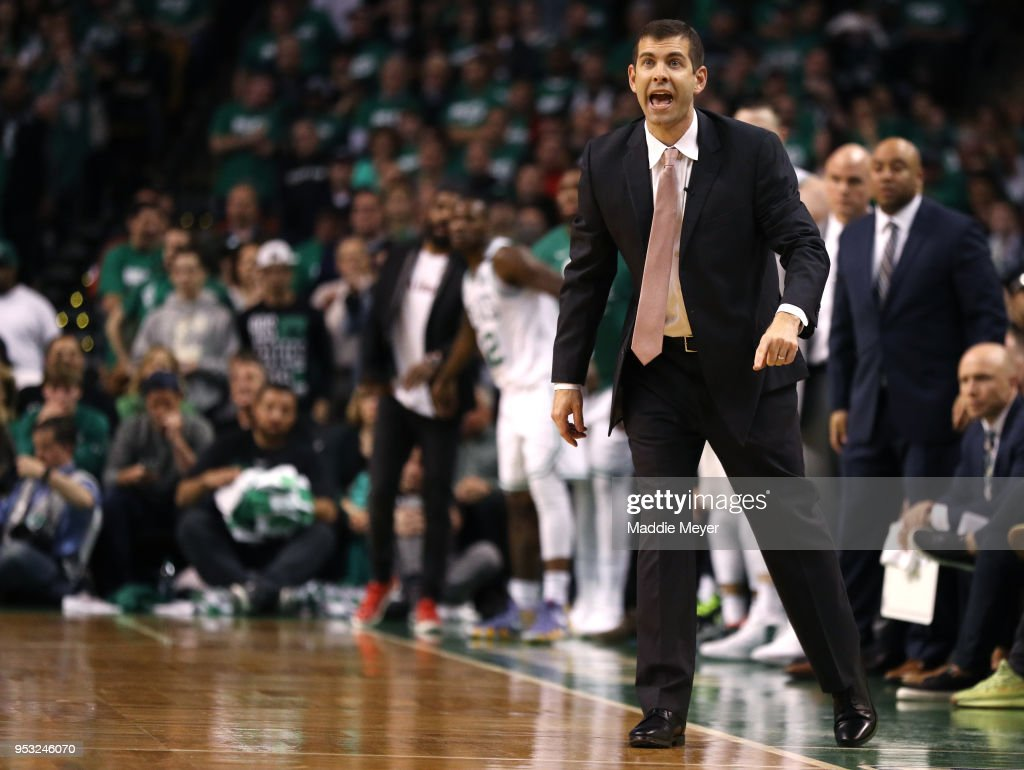 Philadelphia 76ers v Boston Celtics - Game One