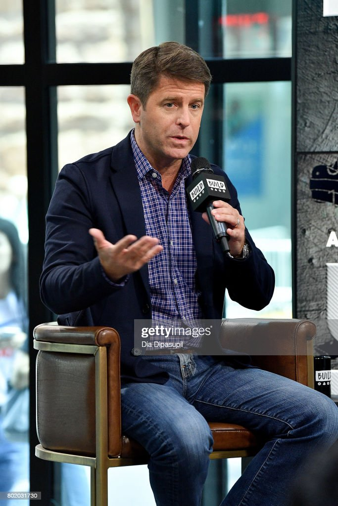 Brad Thor visits Build to discuss his book 'Use of Force' at Build Studio on June 27, 2017 in New York City.