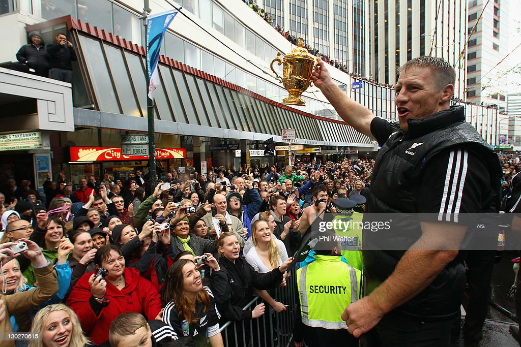New Zealand IRB RWC 2011 Celebration Parade : News Photo