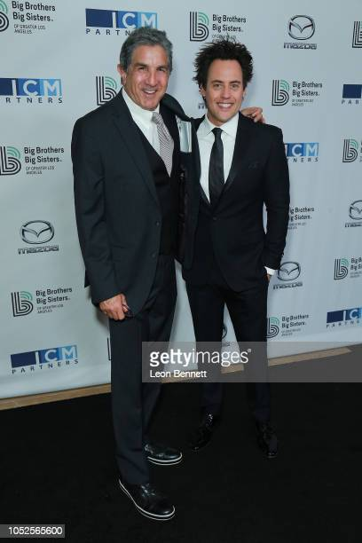Brad Turell and Orny Adams attend Big Brothers Big Sisters Of Greater Los Angeles Big Bash Gala arrivals at The Beverly Hilton Hotel on October 19...