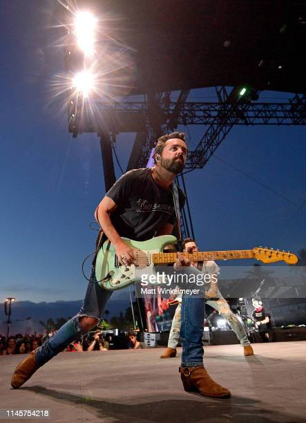 Brad Tursi of Old Dominion performs onstage during the 2019 Stagecoach Festival at Empire Polo Field on April 28 2019 in Indio California