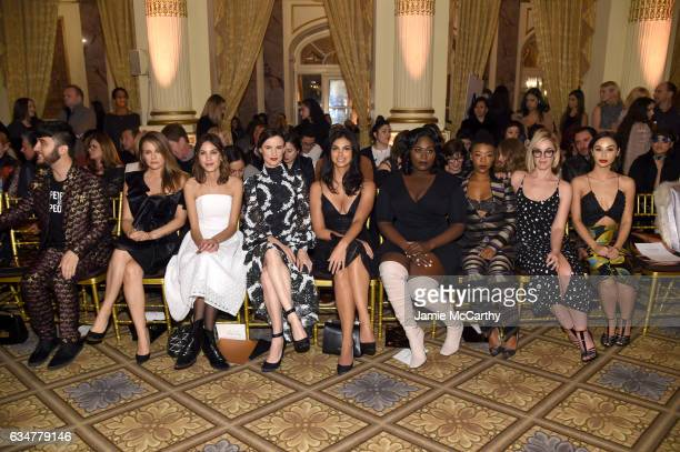 Brad Walsh Alicia Silverstone Alexa Chung Juliette Lewis Morena Baccarin Danielle Brooks Samira Wiley Lauren Morelli and Cara Santana attend the...