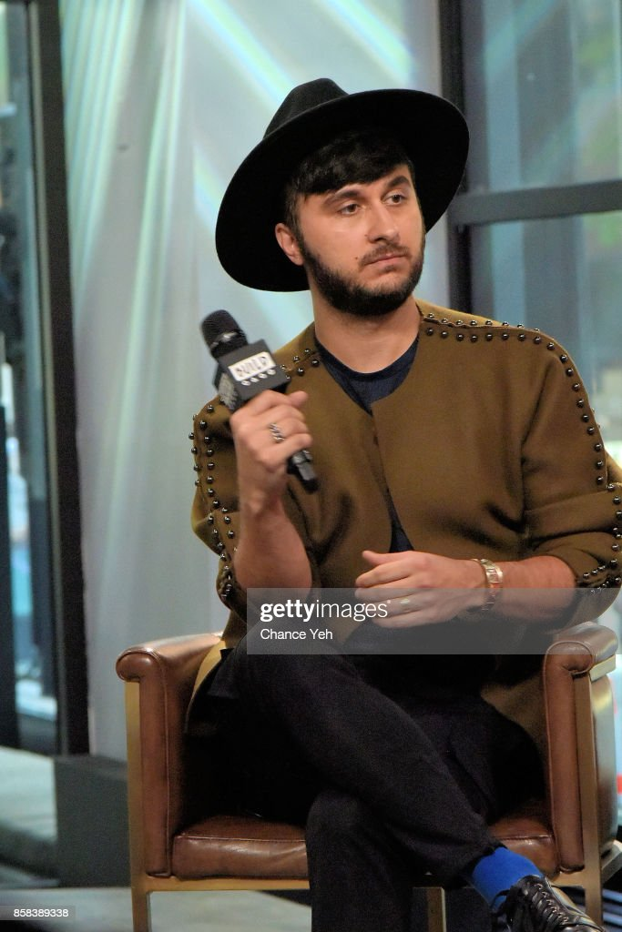 Brad Walsh attends Build series to discuss 'Antiglot' at Build Studio on October 6, 2017 in New York City.