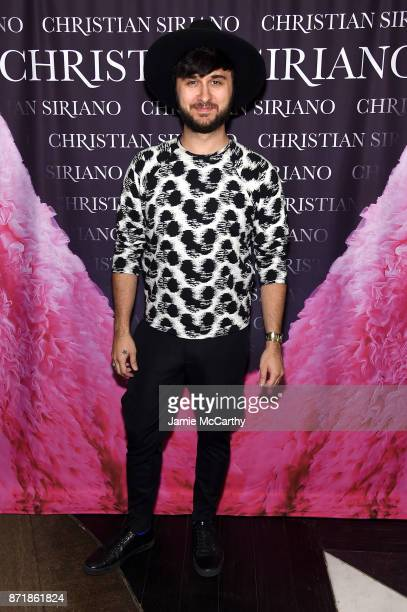 Brad Walsh attends Christian Siriano celebrates the release of his book 'Dresses To Dream About' at the Rizzoli Flagship Store on November 8 2017 in...