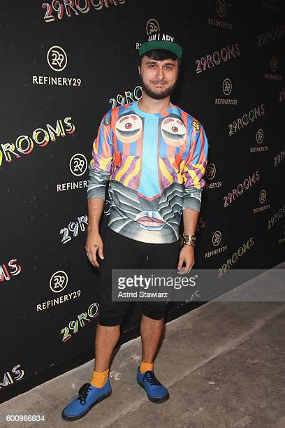 Brad Walsh attends Refinery29's Second Annual New York Fashion Week Event '29Rooms' on September 8 2016 in Brooklyn New York