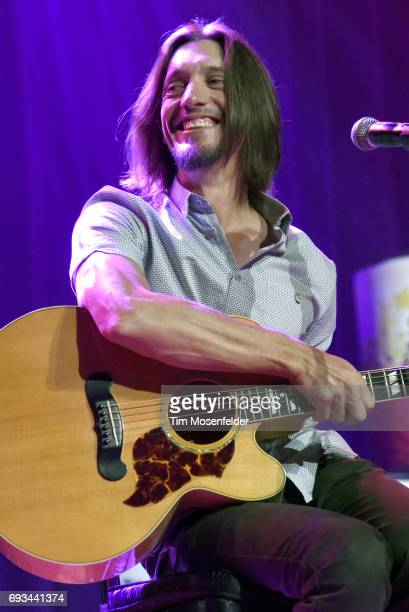 Brad Warren of The Warren Brothers performs during the 13th Annual Stars for Second Harvest benefit at Ryman Auditorium on June 6 2017 in Nashville...