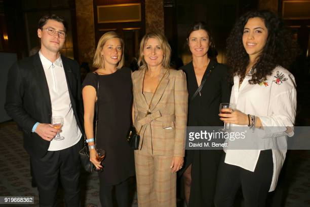 Brad Waters Tess Fowler Cheryl Manning Gabrielle Manning and Helena Crowther attend the Opening evening for the Australian Fashion Council's...