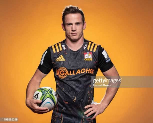 Brad Weber poses during the Chiefs portraits session on January 14, 2020 in Hamilton, New Zealand.