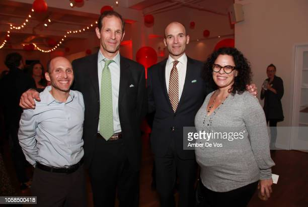 Brad Weiss Cary Potter Chris Potter and Nicole Weiss attend Fall Fete for Fete Home at Midtown Loft Terrace on November 6 2018 in New York City