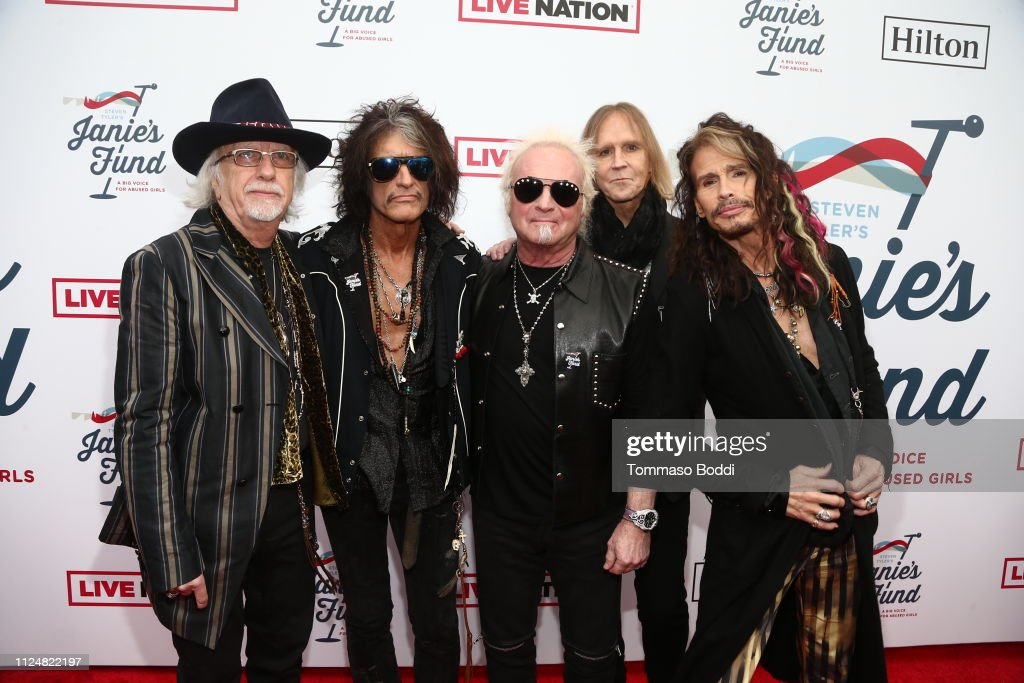 CA: Steven Tyler's 2nd Annual GRAMMY Awards Viewing Party To Benefit Janie's Fund Presented By Live Nation - Red Carpet
