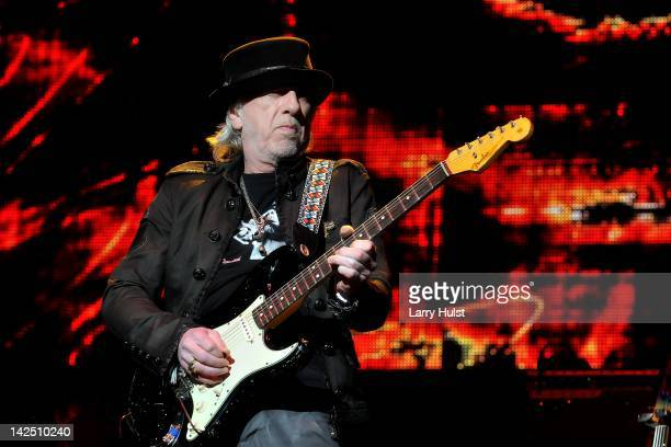 Brad Whitford performing during the Jimi Hendrix Experience 2012 at the Pikes Peak Center in Colorado Springs Colorado on March 30 2012