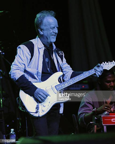 Brad Whitford performs at Paramount theater in Denver Colorado on March 15 2010