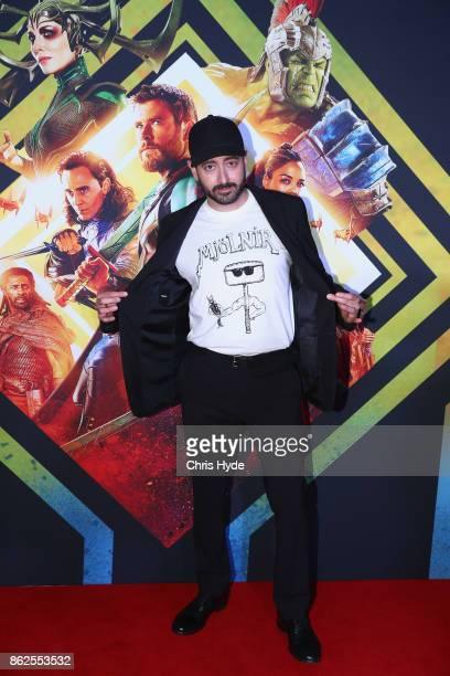 Brad Winderbaum arrives for the Thor Ragnarok Australian Premiere at Event Cinemas Robina on October 13 2017 in Gold Coast Australia