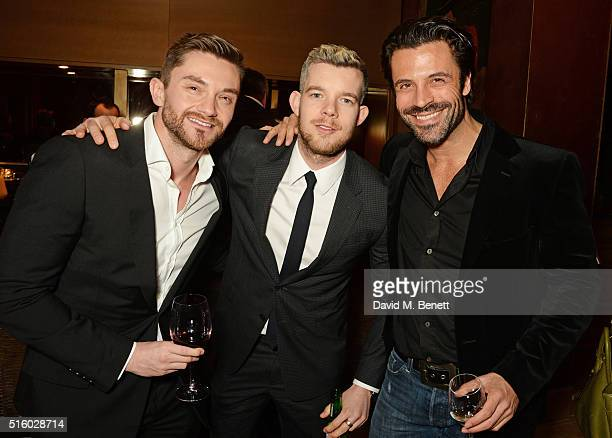 Brad Wrightson Russell Tovey and Christian VIt attend the after party following the UK Premiere of The Pass the opening night film of BFI Flare The...