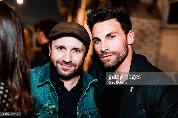Brad Young and Actor Erik Fellows attends the 8th Annual LANY Mixer at Pearl's on February 26 2019 in West Hollywood California