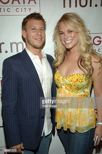 Brad Zeifman and Cassie McConnell during Club murmur Preview Party at murmur Borgata Atlantic City in Atlantic City New Jersey