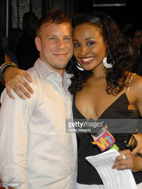 Brad Zeifman and Janell Snowden during June Ambrose Celebrates the Release of her New Book Effortless Style held at Tenjune at Tenjune in New York...