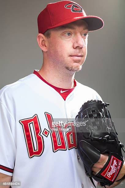 Brad Ziegler of the Arizona Diamondbacks poses during photo day at Salt River Fields at Talking Stick on March 1 2015 in Scottsdale Arizona